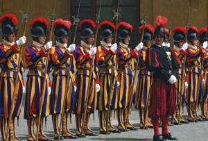 Swiss Guard Assembled