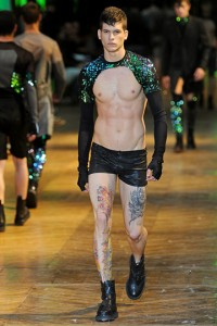 MEN Thierry Mugler Spring 2012