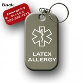 Latex Allergy Alert Tag