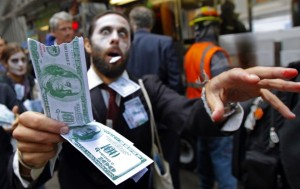 Occupy Wallstreet Protester