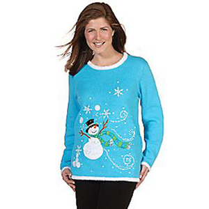 Fiber Optic Holiday Sweater