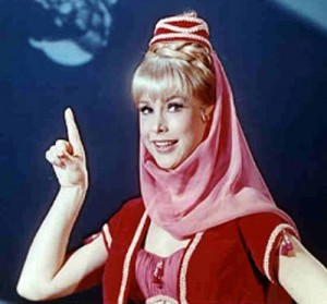 Sorry Barbara Eden, I've got to do this one myself