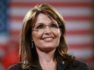 Sarah Palin after her 2008 presidential election win